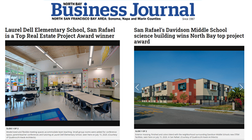 North Bay Business Journal Recognition